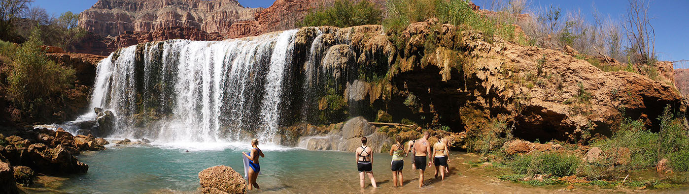 Havasupai Waterfalls Planning Information - Hiking, Camping ... on map of meteor crater, map of shoshone falls, map of grand canyon region, map of utah, map of havasu falls, map of monument valley, map of mooney falls, map of canyon de chelly,