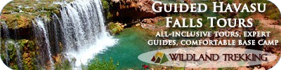 Grand Canyon Waterfalls Tours